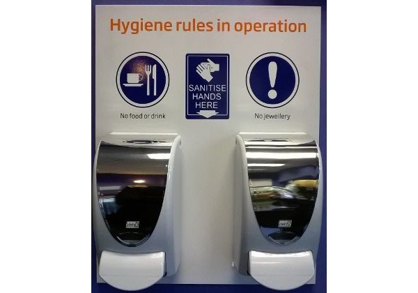 hygienerulesboard_handsanitiserstation